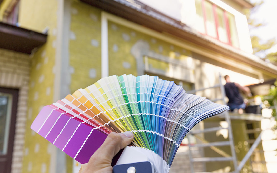 Select A Better Home Colour For A New Home