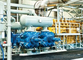 Filtration for advanced compressed air in a sanitary manner